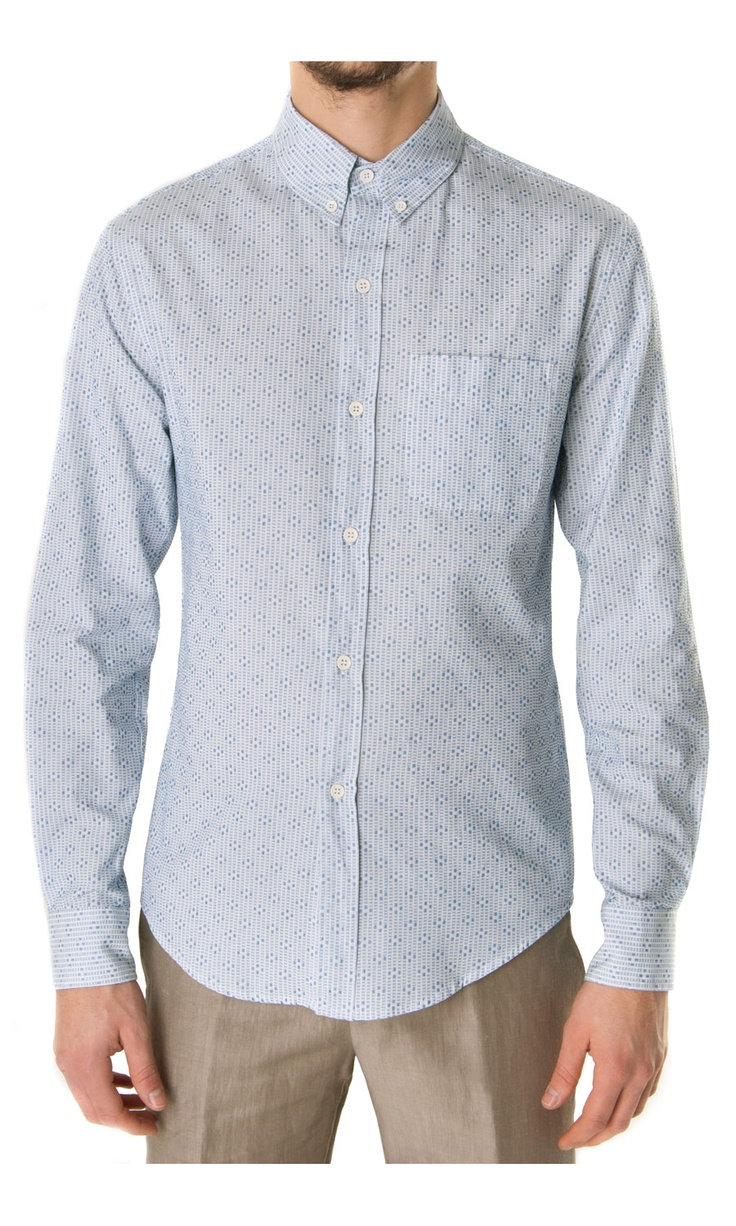 Band of Outsiders Jacquard Cotton Shirt - #menswear