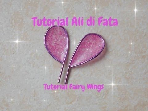 FIMO LIQUID - Come fare le ali di fata in fimo - tutorial DIY - YouTube