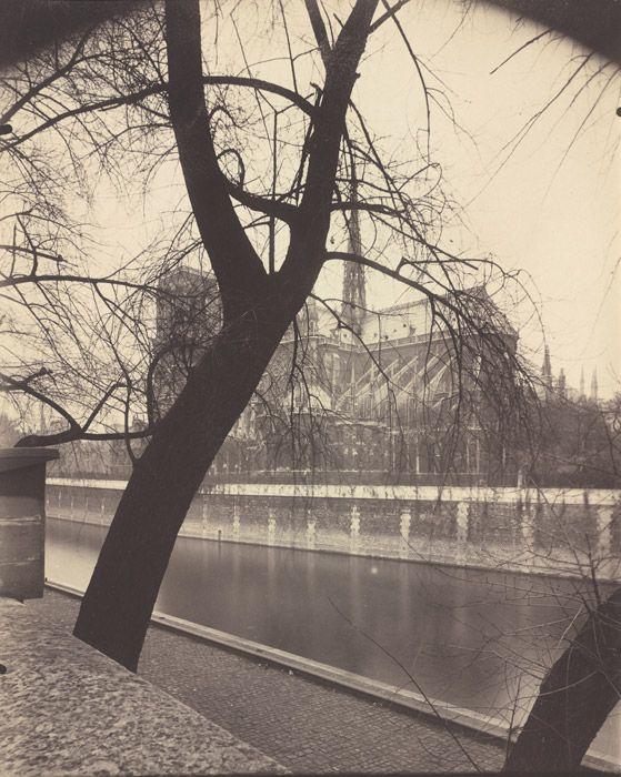 6.6.12 Eugene Atget 'Notre Dame' 1922