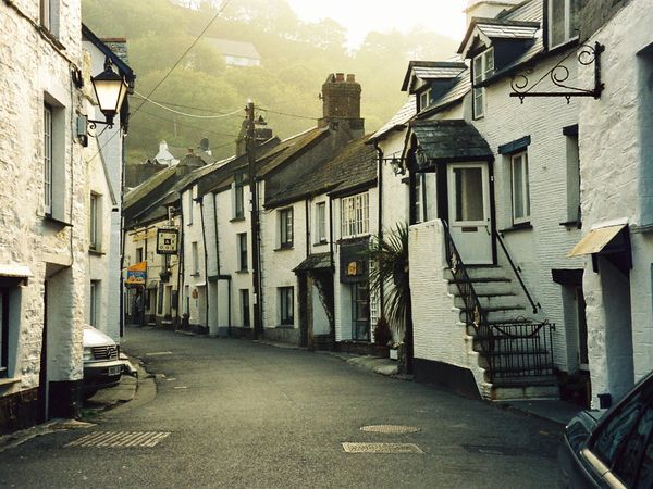 Polperro, Cornish Coast, England by Ursula van Tonder