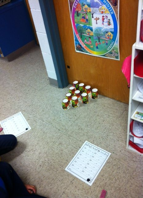 Subtraction bowling- I can only imagine how crazy this will be.... which means I'll probably try it