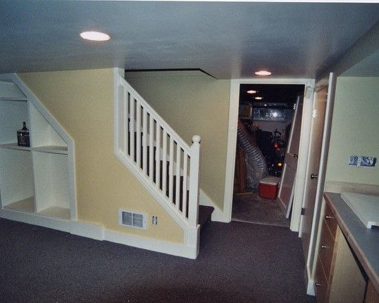 Basement Stairs Design: 8 Best Images About Basement Remodeling On Pinterest