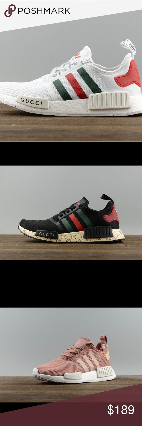 Gucci Adidas NMD fashion sneaker shoes New, comes with box.   I don't reply any comment, Please contact me at:catinaholmessc@gmail.com  ————————————————— Men mens womens women nike vans converse adidas puma roshe air max athletic sports white pink black purple evening heel high heeled flat feet leather ankle boots wedge free run shoes sneakers Nike, Jordan, KD, Lebron, Foamposite, SB, Fly, Max adidas Shoes Sneakers
