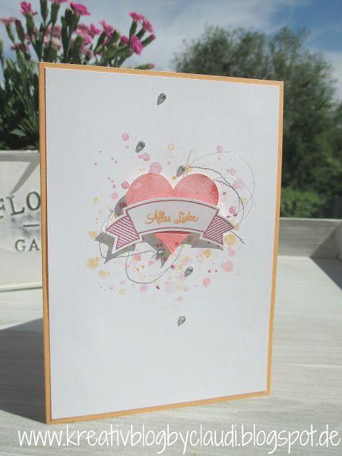 Kreativ Blog by Claudi: Alles Liebe