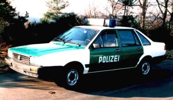 OG | 1988 Volkswagen / VW Santana | #Polizei