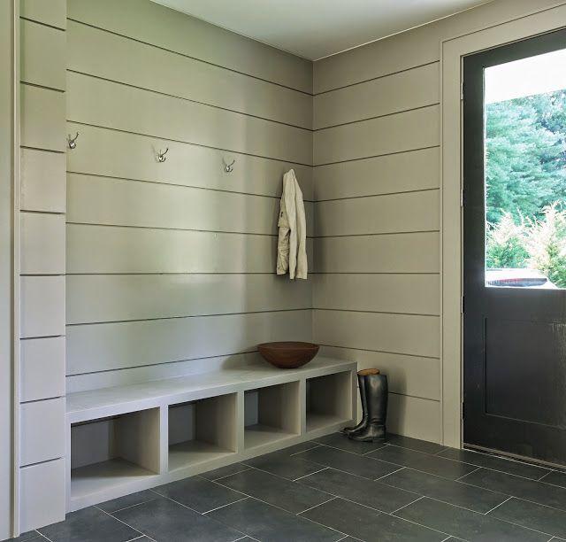 Best 25 shiplap siding ideas on pinterest farmhouse for Modern farmhouse mudroom