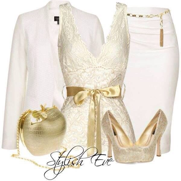 Vero Moda White Shoes