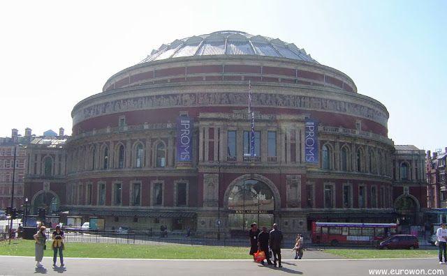 Royal Albert Hall de Londres.