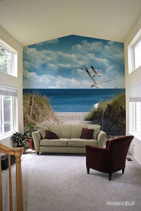 Baltic sea wallpaper by Fototapeta4u.pl