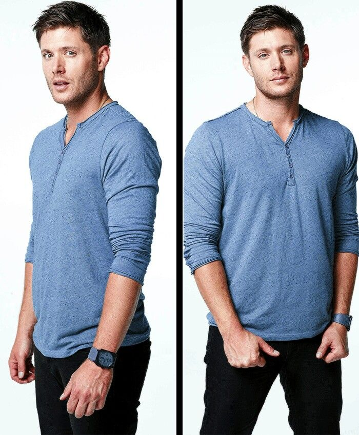 Jensen Ackles as Dean Winchester <-- No, that's Jensen Ackles as Jensen Ackles the model.