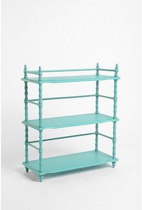 Turquoise Bookshelf $179.00