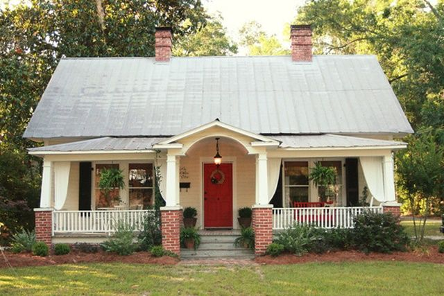 Cottage Exterior at Skies of Parchment