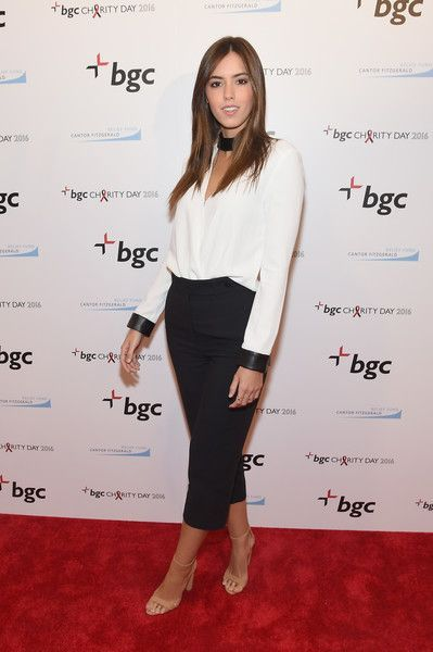 Paulina Vega: Annual Charity Day Hosted By Cantor Fitzgerald, BGC and GFI - BGC Office - Arrivals