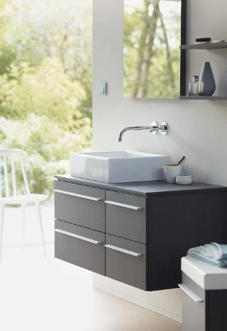 X-Large | Duravit: Stylistic individuality and maximum flexibility are made possible thanks to a wide variety of