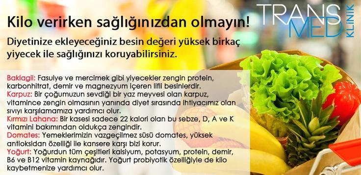 Şok diyetler yaparken sağlığınızdan olmayın!
