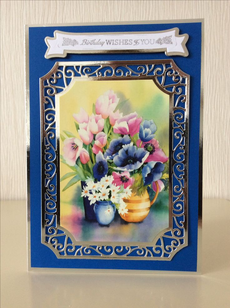 Evelyn Michie. Hunkydory Fantastic Florals little book and Tonic Swirling Frame due