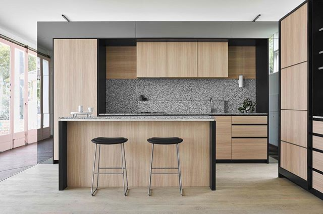 """Full shot - Display Suite kitchen for @milieuproperty Nth Fitzroy """"Breathable…"""