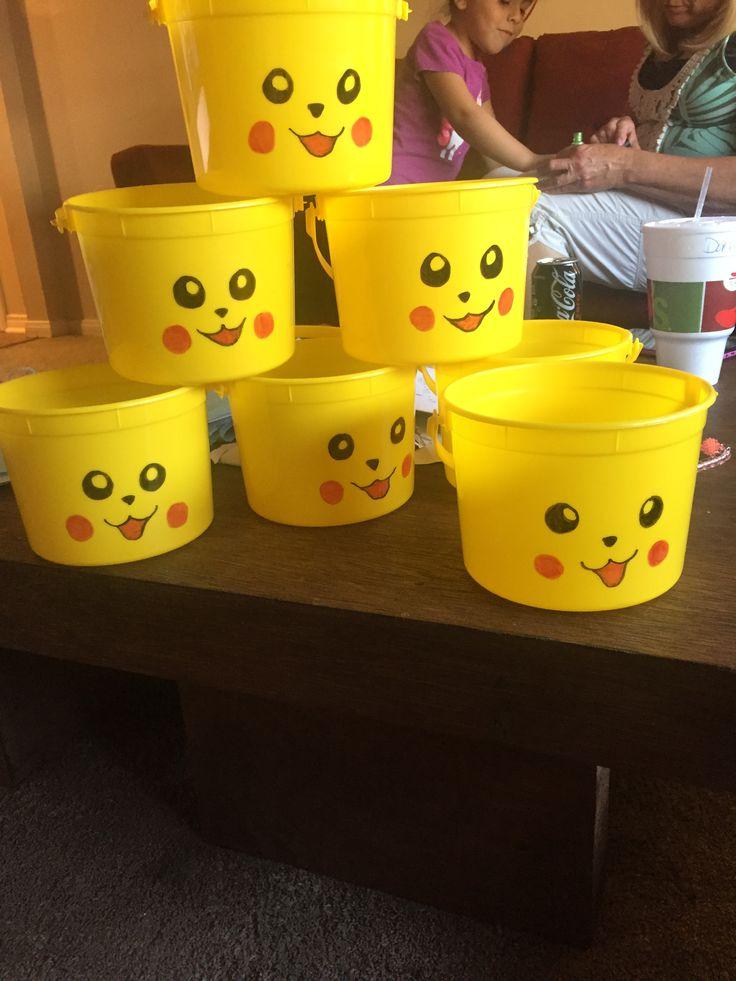 Pokemon Pikachu party favors