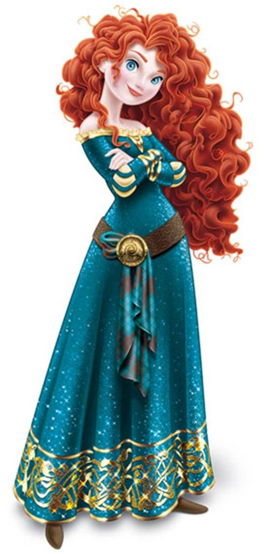 Disney Merida Clip Art | Disney Princess