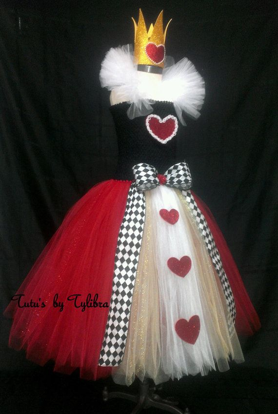 Queen Of Hearts Costume Diy Tutu 1000+ images about Val...