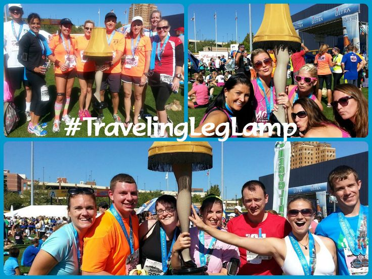 Akron Marathon September 28, 2013!   #running #AkronMarathon #CLExMAS #TravelingLegLamp