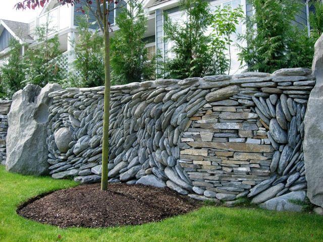 25 best unique retaining wall ideas images on pinterest decks the garden ancient art of stone from httpagardenbydesignspot workwithnaturefo