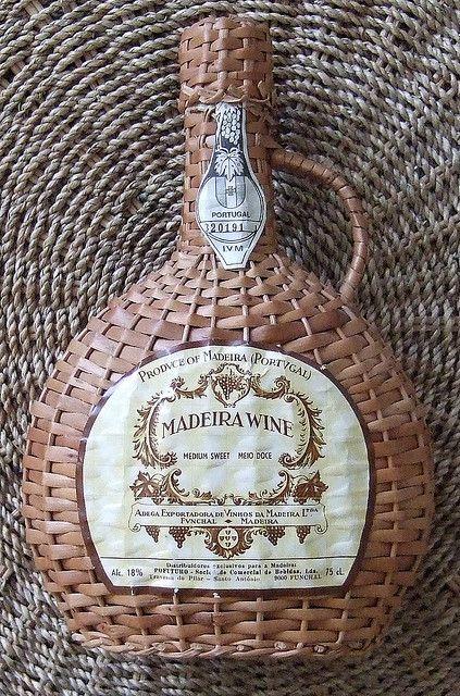 MADEIRA (PORTUGAL) WINE VINTAGE 1970's