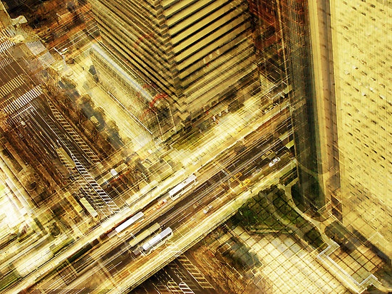 Berlin Based Photographer Stephanie Jung's Multi-Exposure Photo of Tokyo