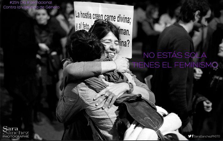 ¡Qué todos los días sean 25 de Noviembre: Día Internacional Contra la Violencia de Género! Sara Sánchez Photo.