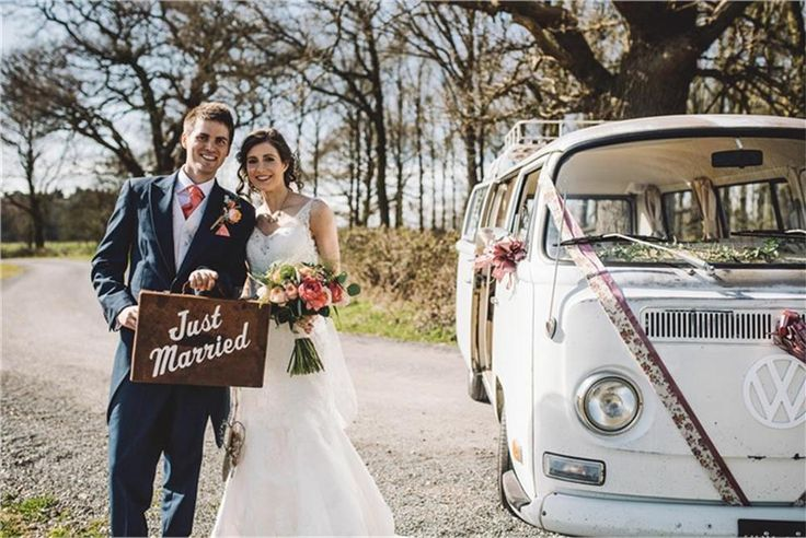 Vintage VW wedding hire and photo booth hire in Rugby
