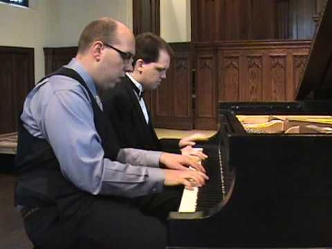 And here is the movie piano duet they played together.
