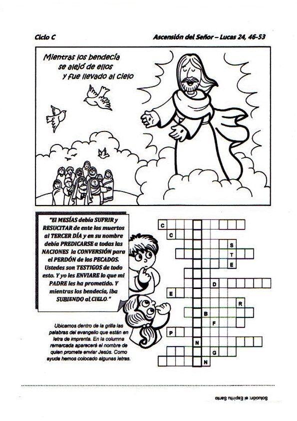 La Catequesis: Recursos Catequesis Séptimo Domingo Pascua Ciclo A: Ascensión del Señor
