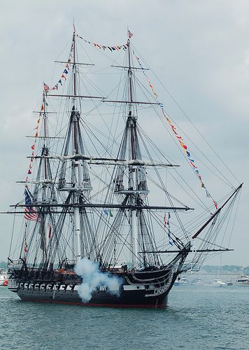 USS Constitution. Will sail again!