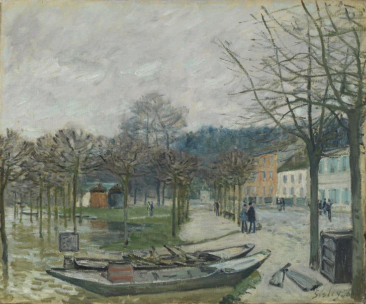 top 25 ideas about alfred sisley on artworks museums and the church