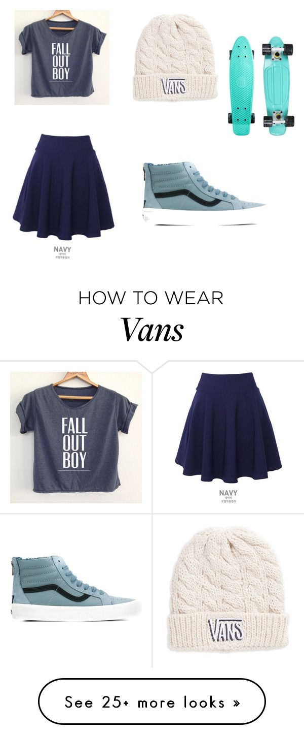 """Untitled #29"" by toriskye17 on Polyvore featuring mode, QNIGIRLS en Vans"