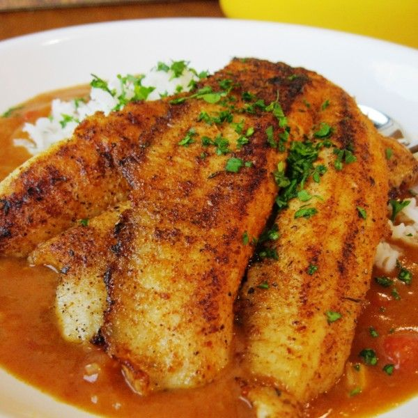 Creole Redfish Court-bouillon