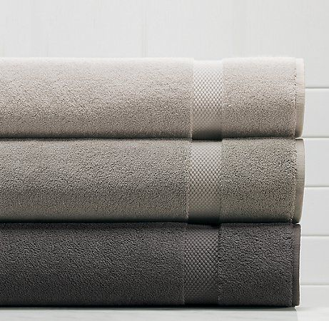 If you are looking for awesome luxury bath towels I highly recommend the Restoration Hardware Turkish Towels.  We have the bath sheets which are HUGE and are always disappointed when we try anything else. They hold up really well too.
