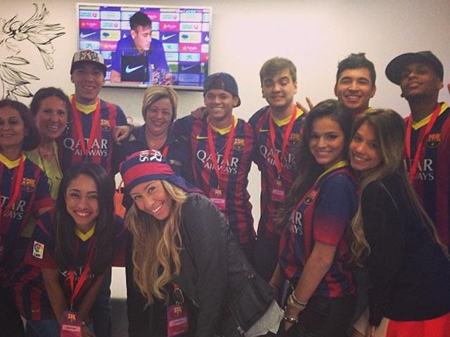 Rafaella Beckran, la hermana de Neymar, es fanática del Barcelona - Galería de Fotos | FOX Sports