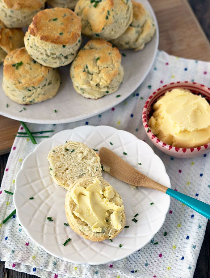 Scones should be light as air, and these buttermilk chive scones fit that brief perfectly. This recipe is from Australian Chef George…
