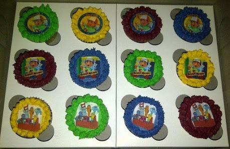 Handy Manny Cupcakes
