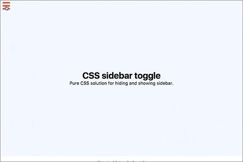 [CSS]レスポンシブ対応、サイドバーをアニメーションでスライド表示・非表示させるテクニック