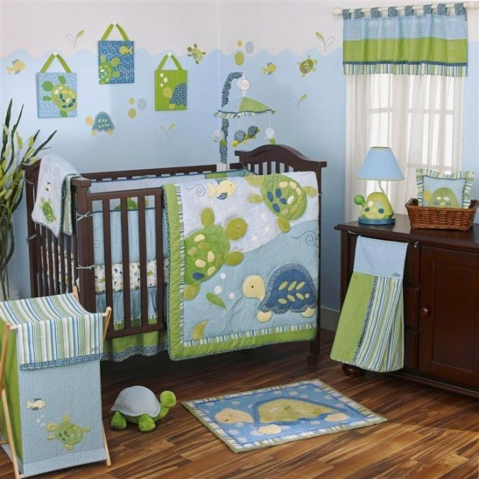 Turtle Reef 8 Piece Crib Bedding Set. Reintroduction Of A Popular  Collection; A