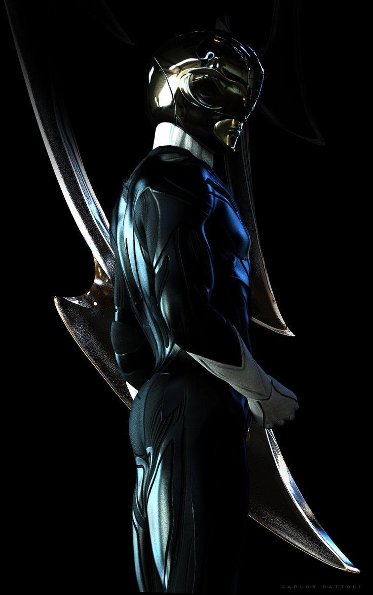 ArtStation - Black Ranger, Carlos Dattoli