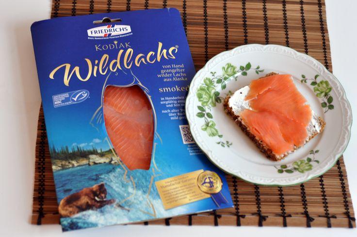 Das Meer lässt grüßen - in Form von diesem prächtigem MSC-zertifiziertem Wildlachs, der in Handarbeit veredelt wurde. Mit dieser Information schmeckt der Fisch doch gleich noch besser...