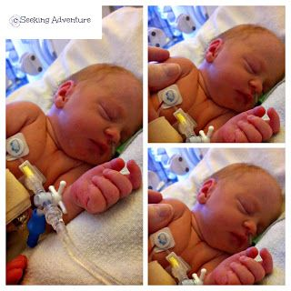 Five weeks early - My funny and scary birth story #birth #preemie #Ireland #35weeks #maternit