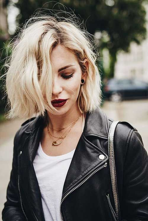 6.Short Hairstyle