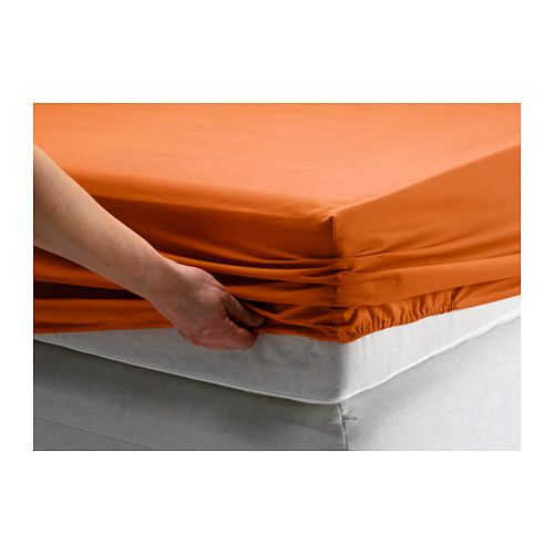 DVALA Fitted sheet IKEA Fits Single size mattresses with a thickness up to 26 cm since the fitted sheet has elastic edging.