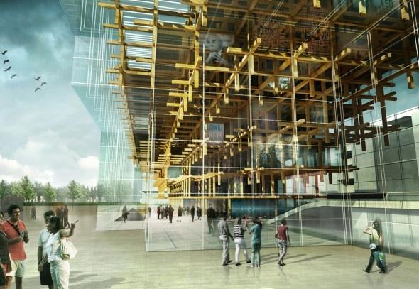 MDU Architetti | Helsinki Central Library | 2013