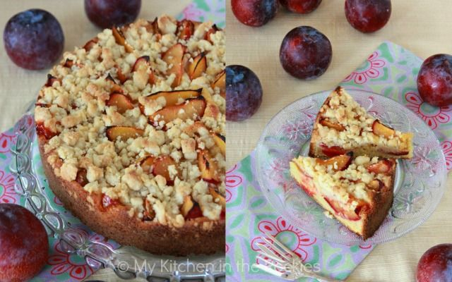 This German streusel plum cake would be served in the Palatinate region of Germany as a lunch together with some homemade potato soup. I know, that this may sound a little different, but trust me, it is unbelievably delicious. My aunt would bake her plum cake with a yeast dough, but mine is a ...