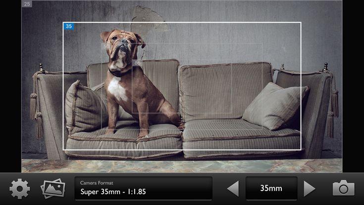 Cadrage – the better director's viewfinder app, by Sebastian Wöber   via @c5dnews